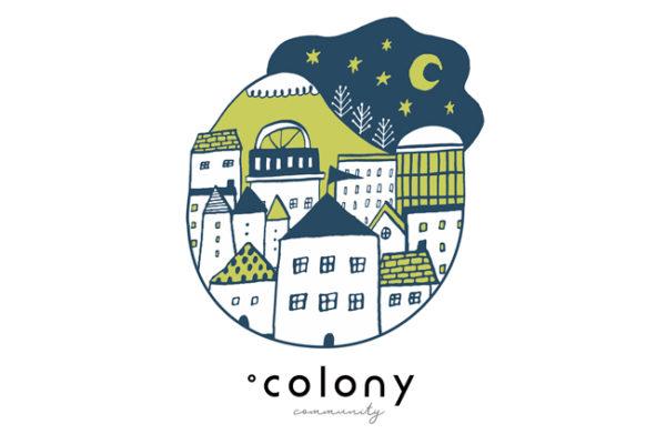 .colonyのメインビジュアルイラスト