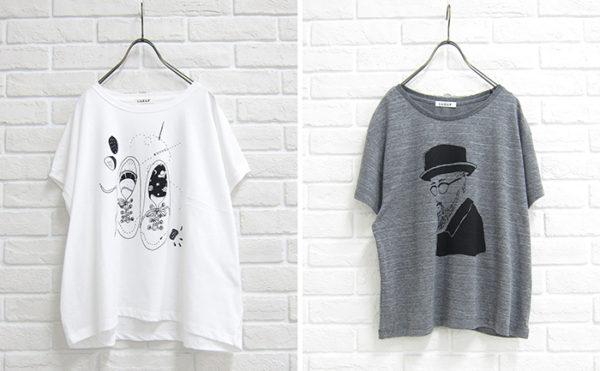 LUEUF 2016 S/S Tシャツイラスト