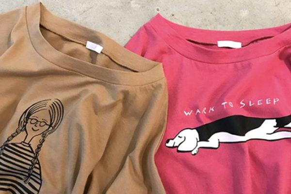 LUEUF 2018 S/S Tシャツイラスト