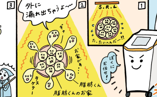 With Beauty Vol.7 記事内漫画イラスト